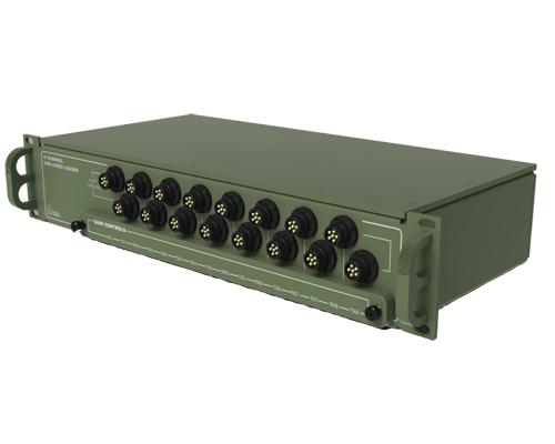 Multi Channel Miliary Radio Recorder - Modern US Design