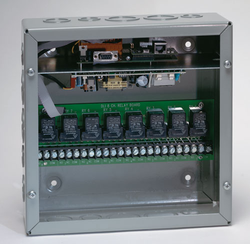 Digital Power Switch : Industrial web power control ships overnight day
